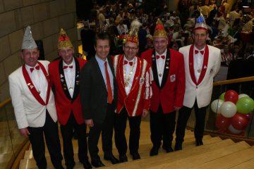 Karnevalsgesellschaft Remblinghausen besucht Närrischen Landtag auf Einladung von Landtagsabgeordneten Matthias Kerkhoff