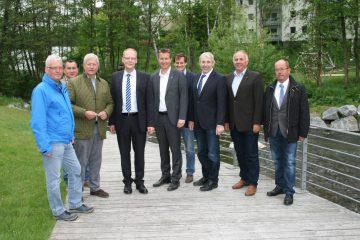 CDU-Landtagsabgeordnete aus Südwestfalen auf Tour
