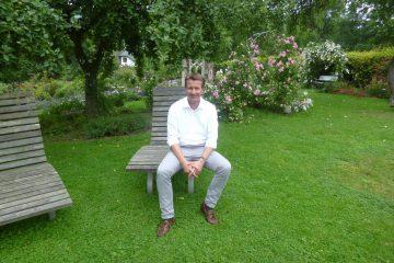 Sommerpressegespräch im Rosencafe Bruchhausen