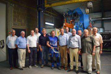CDU besucht Stahlbau Hillebrand