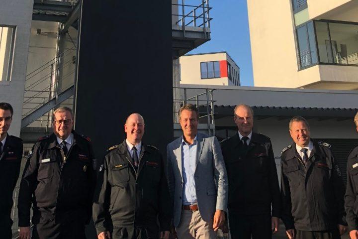 """Matthias Kerkhoff besuchte im Rahmen der """"Woche der Feuerwehr"""" den Feuerwehrverband Hochsauerlandkreis"""