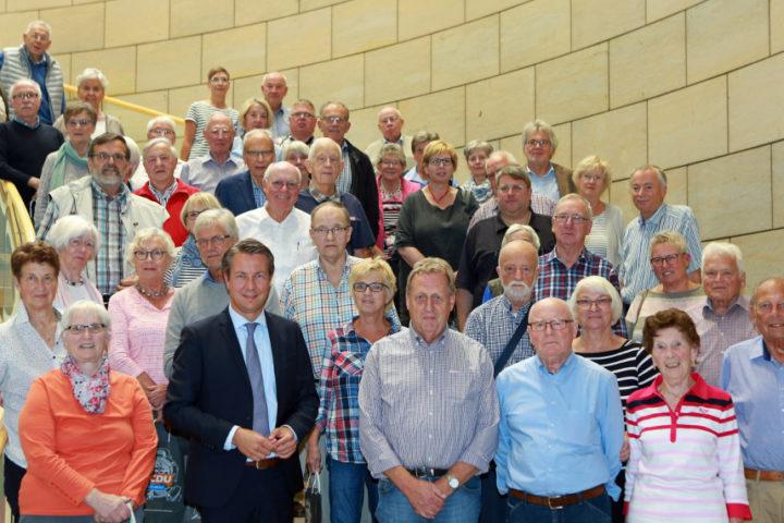 Ü 60 besucht den Landtag in Düsseldorf
