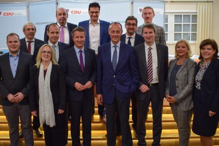 Matthias Kerkhoff MdL mit 98,6% als Kreisvorsitzender wiedergewählt.
