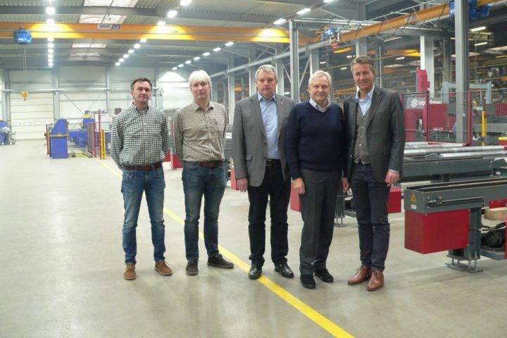 BMS Industriebau investiert 4 Millionen Euro am Standort in Altenbüren