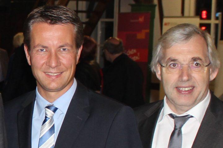 CDU Landtagsabgeordnete Klaus Kaiser und Matthias Kerkhoff: